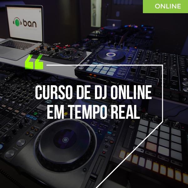 Curso Online de DJ em tempo real