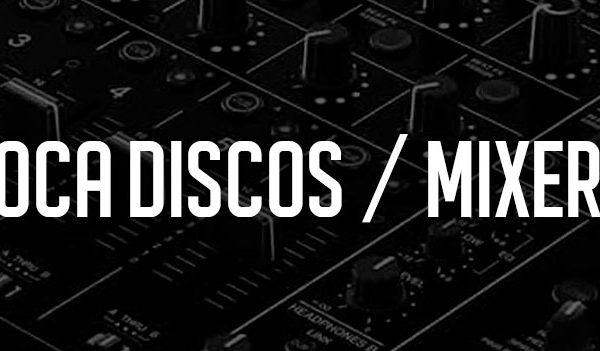 Toca discos / Mixers