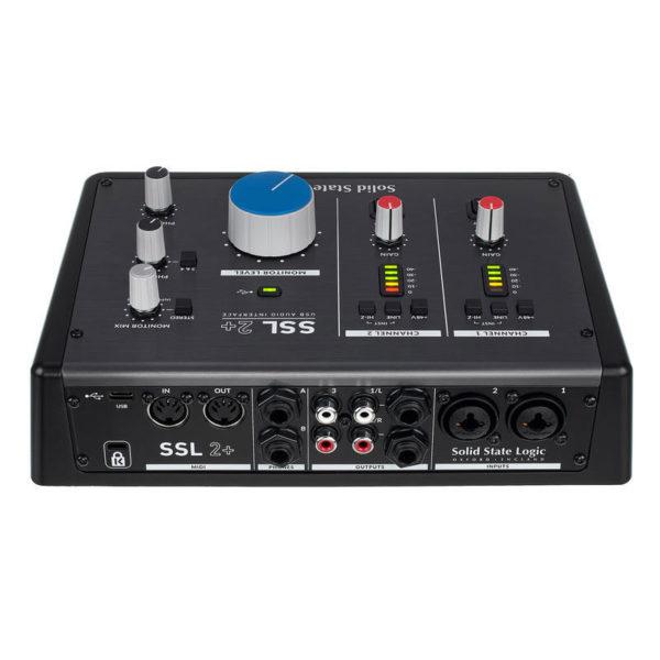 Interface de audio SSL2 PLUS