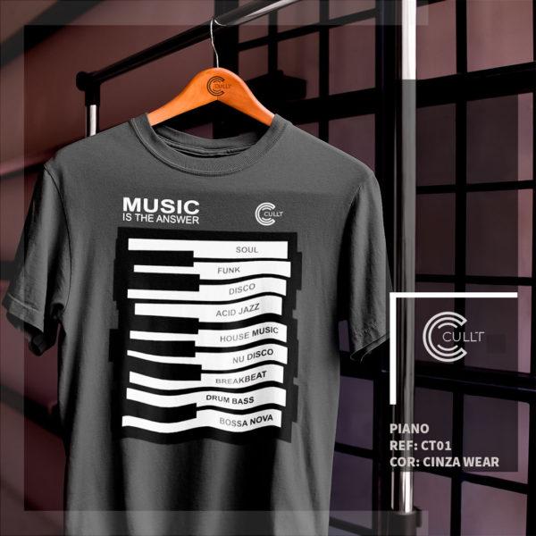Camiseta Cullt Piano