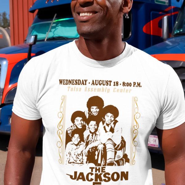 Camiseta Cullt The Jackson 5 Branca