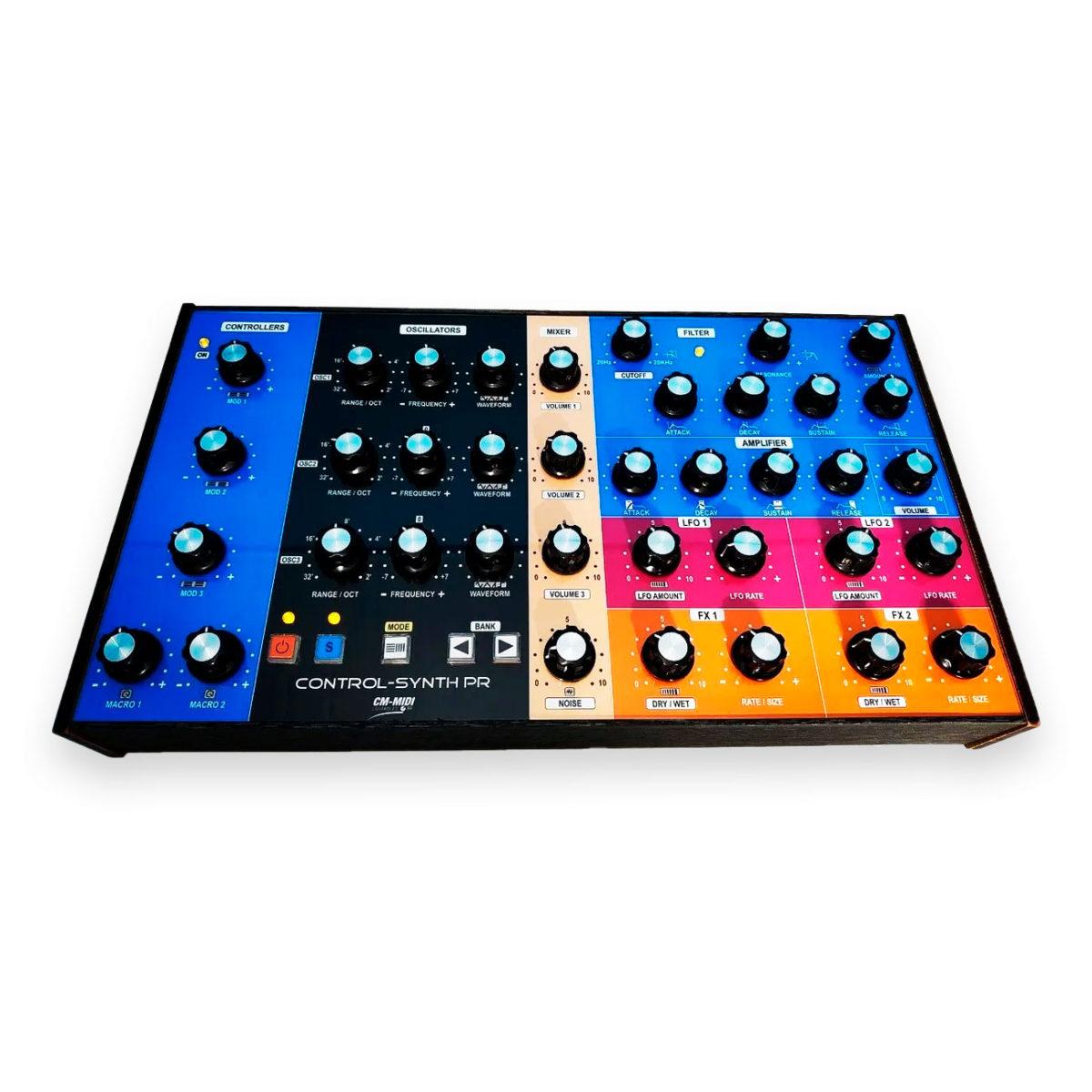 Controlador Midi usb Control-synth Pr