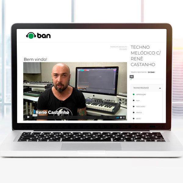 Curso Online de Techno Melodico com Rene Castanho