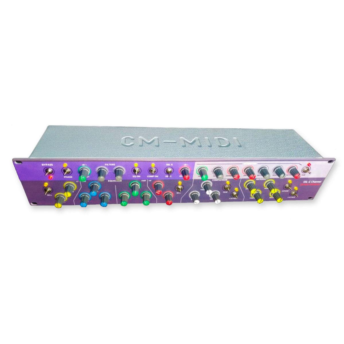SSL G Channel - Controlador MIDI USB para plugins