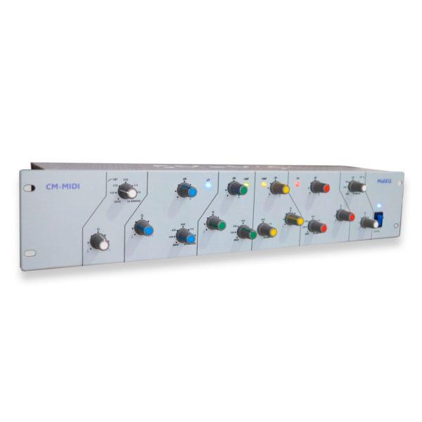 MIDIEQ BRANCO - CONTROLADOR MIDI USB PARA PLUGINS