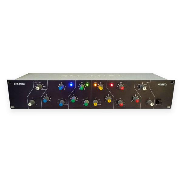 MIDIEQ PRETO - CONTROLADOR MIDI USB PARA PLUGINS