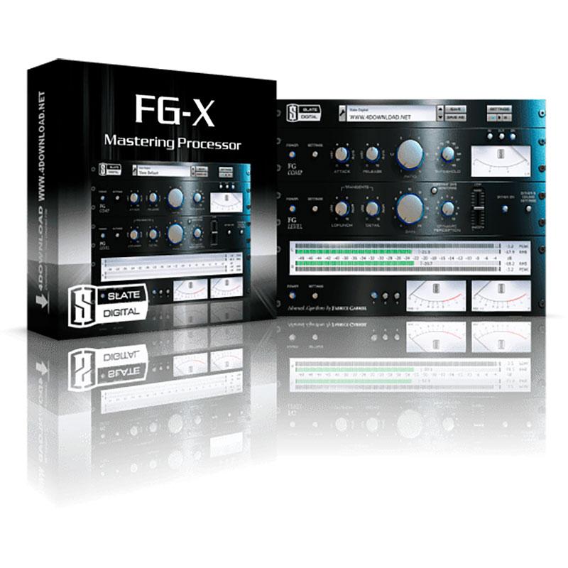 FG-X Mastering Plugin Slate Digital