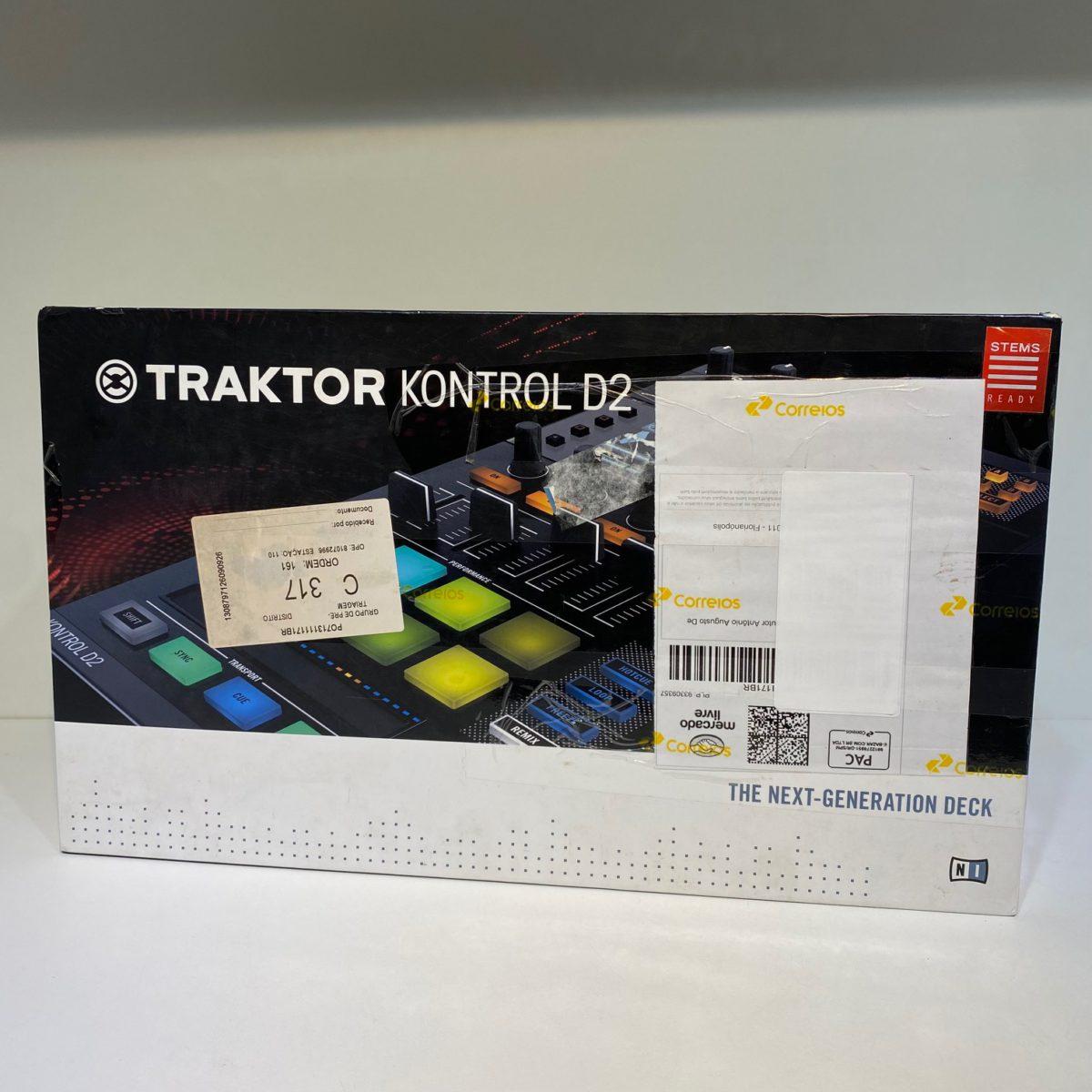 Traktor Kontrol D2 Native Instruments