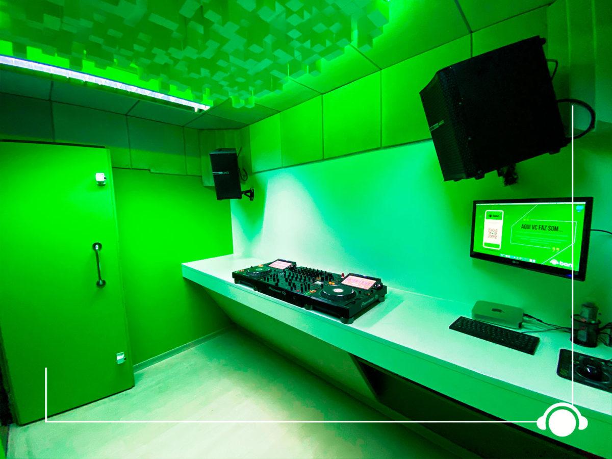 Locação de Estudio DJ - Setup Classe A