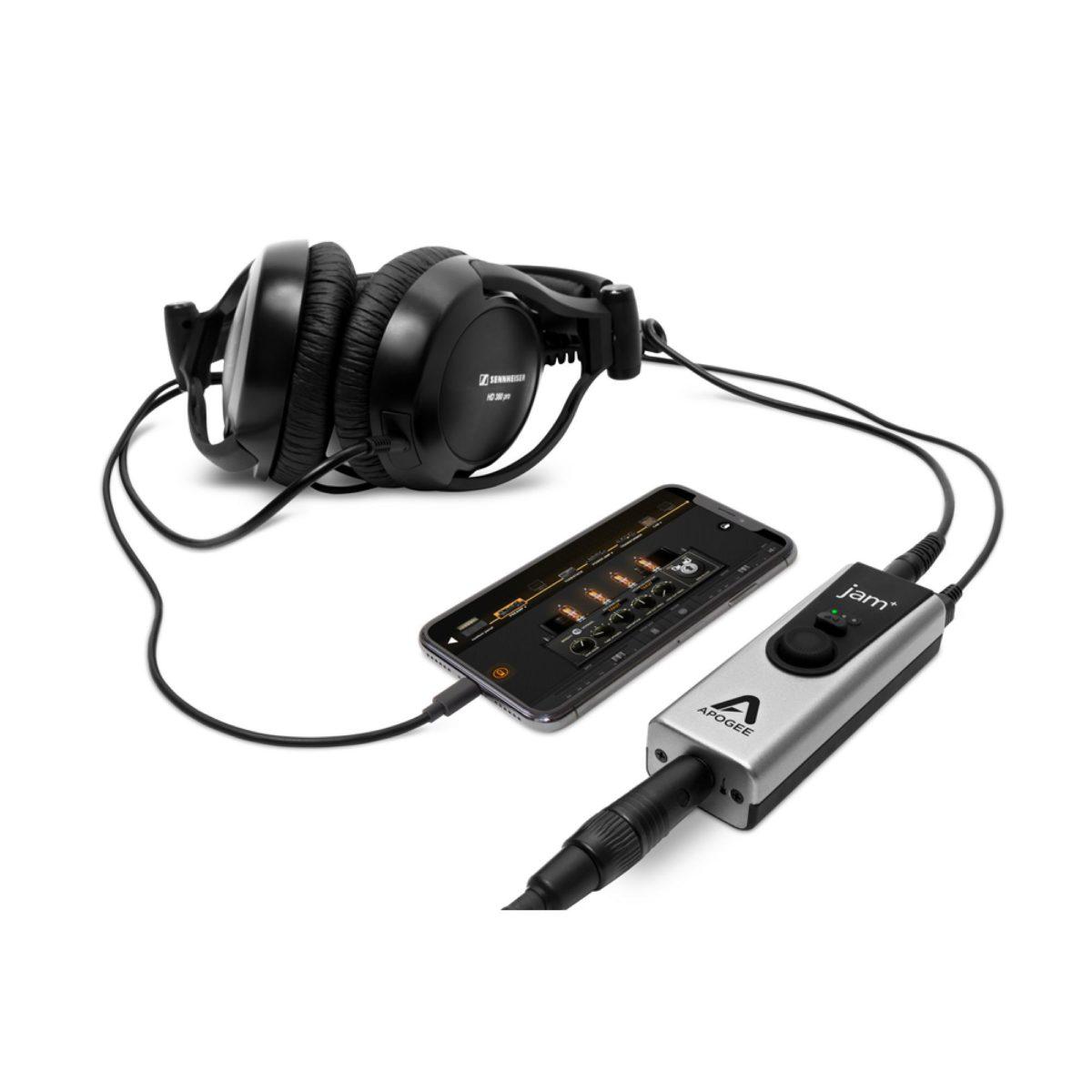 apogee jam plus interface de audio
