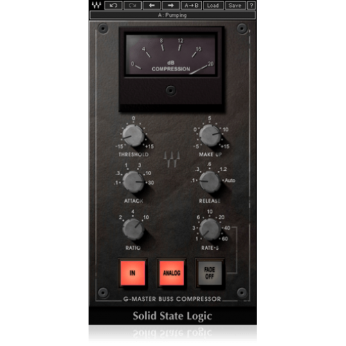 SSL G-Master Buss Compressor Waves