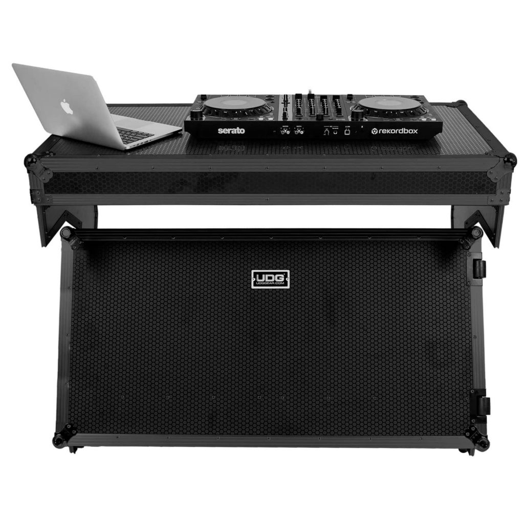 UDG Ultimate Flight Case Portable Z-Style DJ Table Black Plus