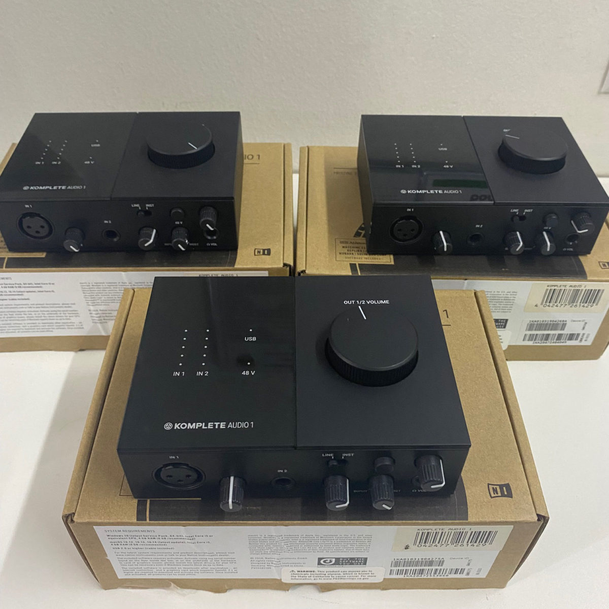 Interface de áudio Komplete Audio 1 (seminova)