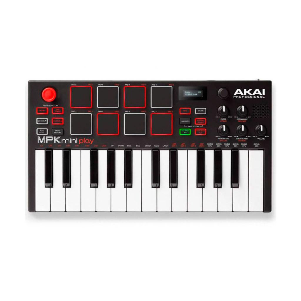 Teclado controlador Akai MPK Mini Play